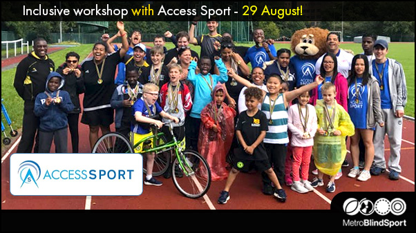 Inclusive workshop with Access Sport 29 Aug