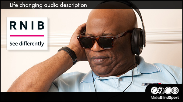 Life changing audio description - RNIB
