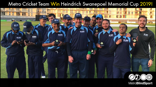 Metro Cricket Team Win Heindrich Swanepoel Memorial Cup 2019!
