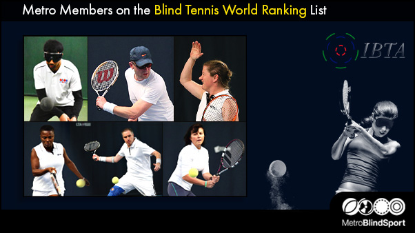 Metro Members on the Blind Tennis World Ranking List