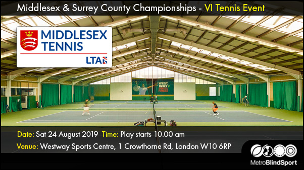 Middlesex & Surrey County Championships - VI Tennis Event