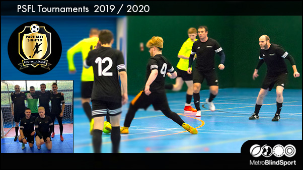 Partially Sighted Football League Tournaments
