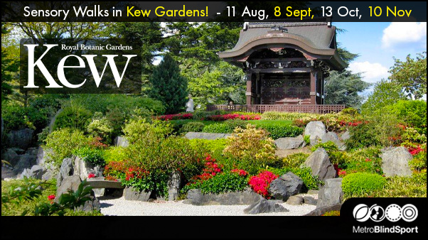 Sensory Walks in Kew Gardens!