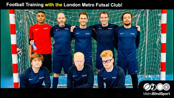 Train with the London Metro Futsal Club -Team Photo