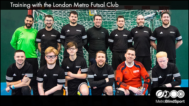 Training with the London Metro Futsal Club