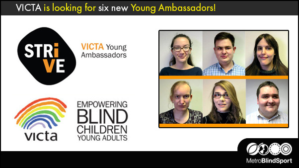 VICTA is looking for six new Young Ambassadors!