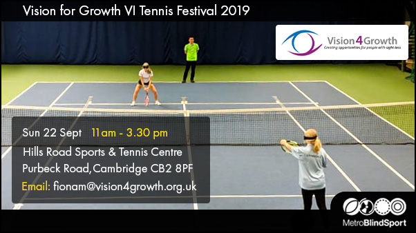 Vision for Growth VI Tennis Festival 22 Sept 2019