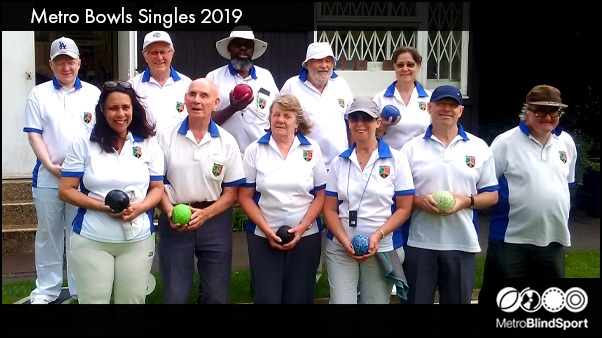 Metro bowlers group photo at the metro singles 2019