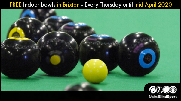 FREE Indoor bowls in Brixton - Every Thursday until mid April 2020