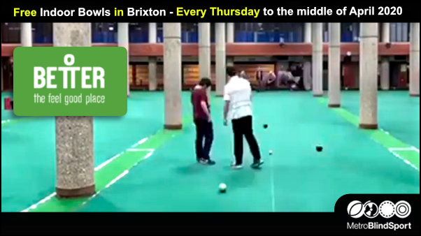 Free Indoor Bowls in Brixton - Every Thursdayto the middle of April 2020