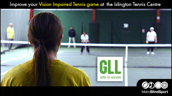 Improve your Vision Impaired Tennis at the ITC