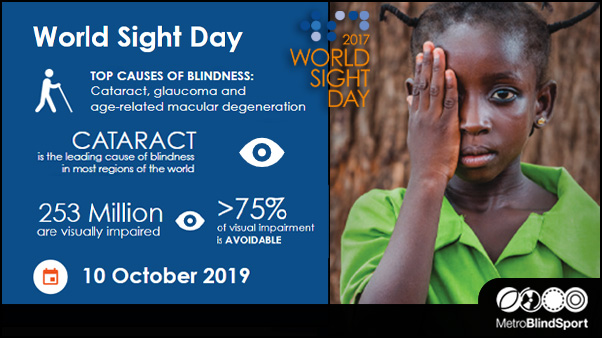 World Sight Day: 10 Oct - Vision First!