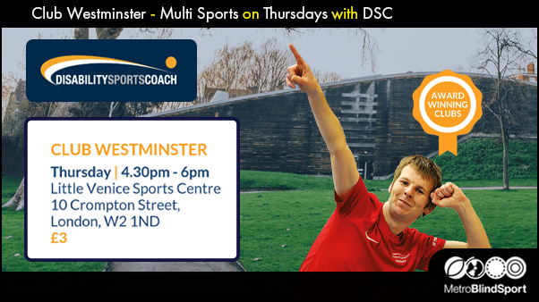 Club Westminster - Multi Sports on Thursdays with DSC