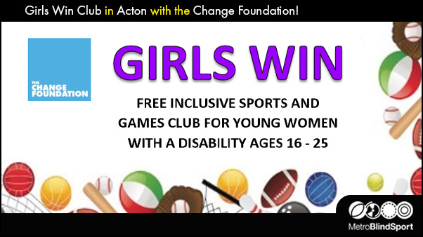 Girls Win Club in Acton with the Change Foundation