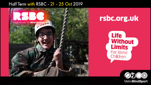 Half Term with RSBC 21-25 Oct 2019!