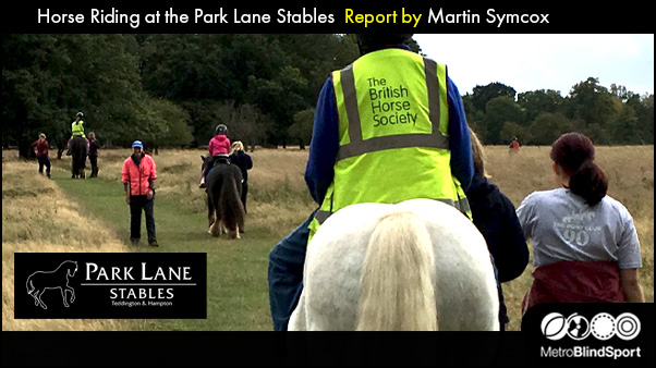 Horse Riding at the Park Lane Stables