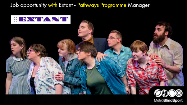 Job opportunity with Extant - Pathways Programme Manager