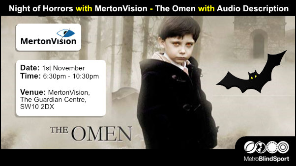 Night of Horrors with MertonVision - The Omen with Audio Description