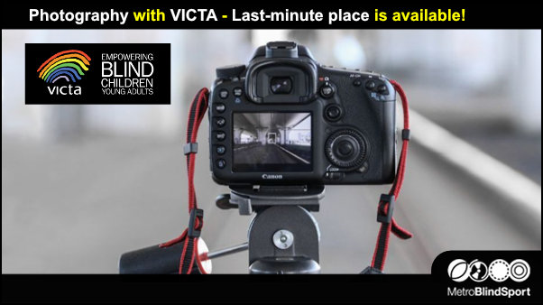 Photography with VICTA - Last-minute place is available