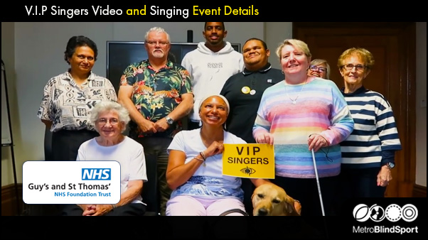 V.I.P Singers Video and event details