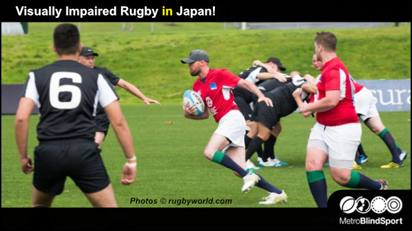 Visually Impaired Rugby in Japan