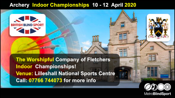 Archery Indoor Championships 10 - 12 April 2020