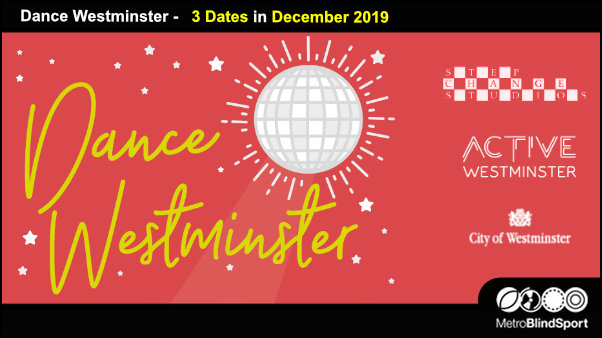 Dance Wesminster 3 Dates in December 2019
