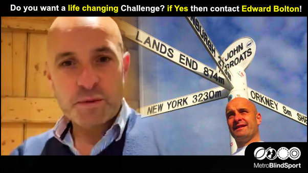 Do you want a life changing Challenge if Yes then contact Edward Bolton