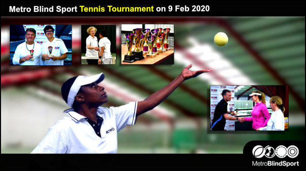 Metro Blind Sport Tennis Tournament on 9 Feb 2020