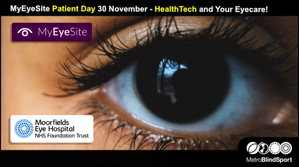 MyEyeSite Patient Day 30 November - HealthTech and Your Eyecare