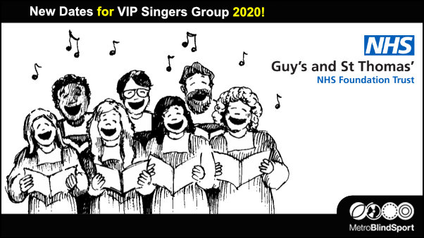 New Dates for VIP Singers Group 2020