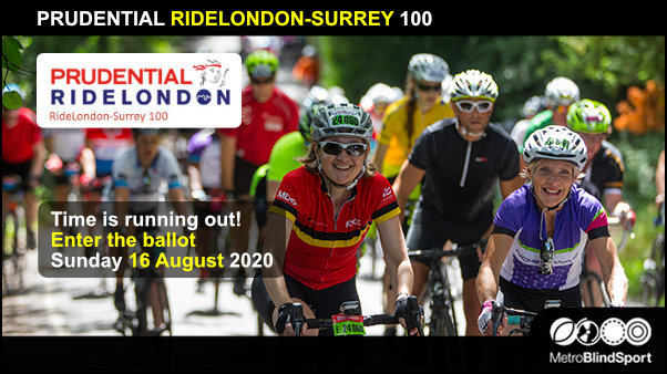 PRUDENTIAL RIDELONDON-SURREY 100 - Enter the ballot