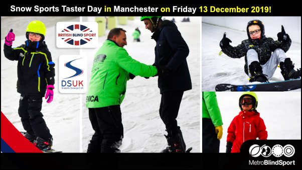 Snow Sports Taster Day in Manchester on Friday 13 December 2019