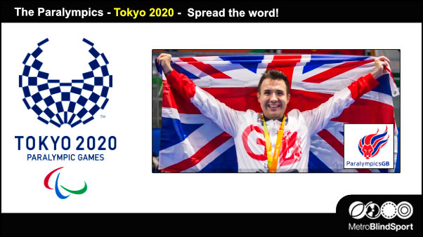 The Paralympics Tokyo 2020 -Spread the word!