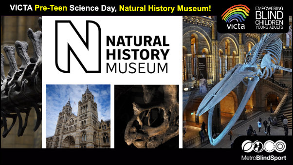 VICTA Pre-Teen Science Day, Natural History Museum