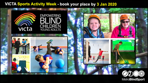 VICTA Sports Activity Week book your place by 3 Jan 2020