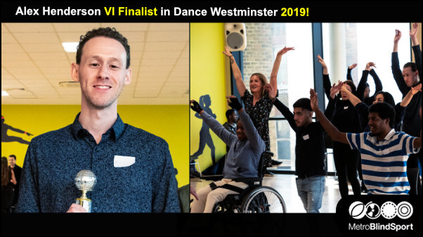Alex Henderson VI Finalist in Dance Westminster 2019