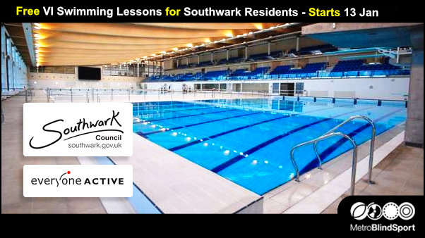 Free Swimming Lessons for Southwark residents Starts 13 Jan