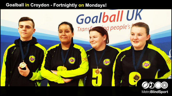 Goalball in Croydon Fortnightly on Mondays