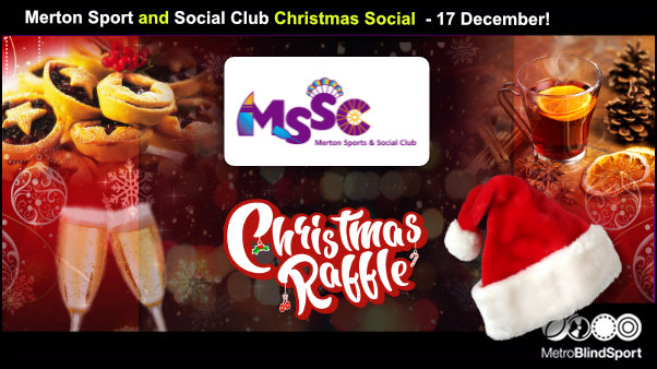 Merton Sport and Social Club Christmas Social 17 December