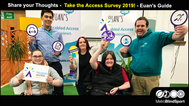 Share your Thoughts Take the Euan's Guide Access Survey 2019