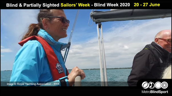 Blind & Partially Sighted Sailors' Week - Blind Week - Apply by 16 March