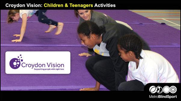 Croydon Vision Children & Teenagers Activities