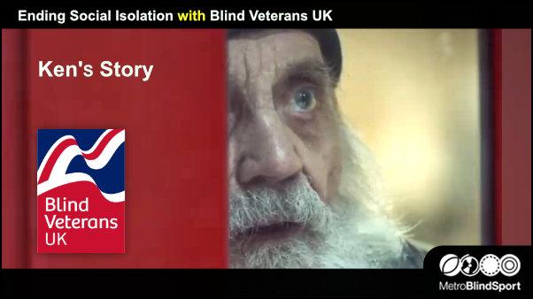 Ending Social Isolation with Blind Veterans UK