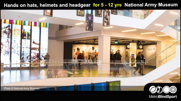 Hands on hats, helmets & headgear 5 - 12 yrs National Army Museum