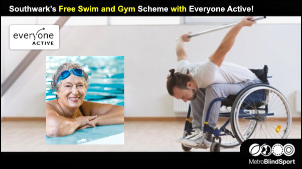 Southwark's Free Swim and Gym Scheme with Everyone Active