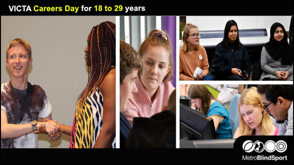 VICTA Careers Day for 18 to 29 years 4 March!
