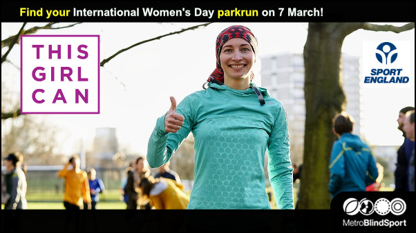 international womens day parkrun on 7 March