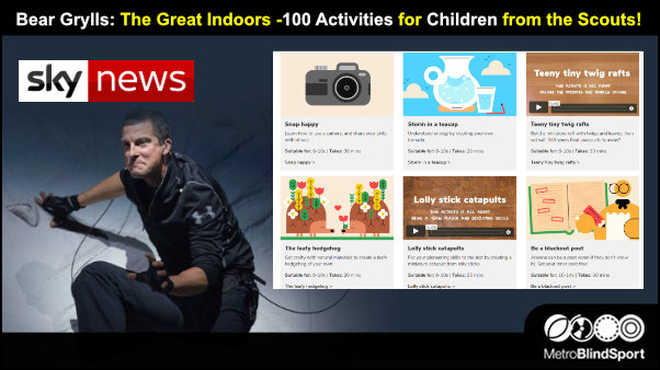 Bear Grylls: The Great Indoors -100 Activities for Children from the Scouts!