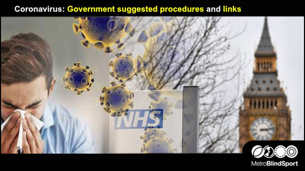 Coronavirus: Government suggested procedures and links